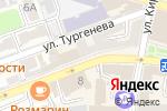 Схема проезда до компании GALLERIA в Астрахани