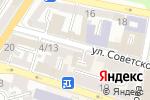 Схема проезда до компании Yoga-Sfera в Астрахани