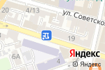 Схема проезда до компании Нитки-Иголки в Астрахани