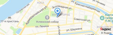 Al Pash Novomoskovskaya на карте Астрахани