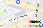 Схема проезда до компании Библиотека в Астрахани