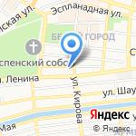 Каруселька на карте Астрахани