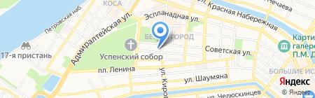 REmix-ТУР на карте Астрахани