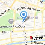 СКБ-банк на карте Астрахани