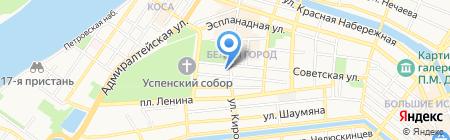 РЕмикс на карте Астрахани