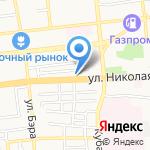 Аква-Люкс на карте Астрахани