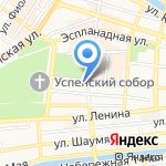Novomoskovskaya на карте Астрахани