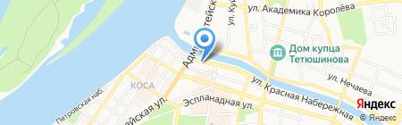 ПЕРСПЕКТИВА ПЛЮС на карте Астрахани