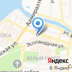Автошкола на карте Астрахани