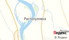 Отели города Растопуловка на карте