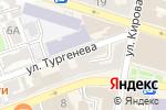Схема проезда до компании Палитра в Астрахани