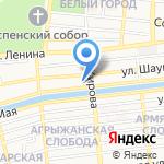 Общеобразовательная школа-интернат №5 для обучающихся на карте Астрахани