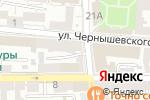 Схема проезда до компании Авиа Вояж в Астрахани