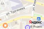 Схема проезда до компании Юкка в Астрахани
