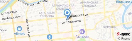 Чистое дело на карте Астрахани