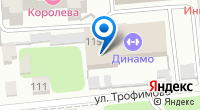 Компания Динамо на карте