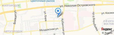 Похоронный дом на карте Астрахани