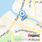 Средняя общеобразовательная школа №30 на карте Астрахани