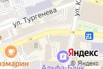 Схема проезда до компании Софья в Астрахани