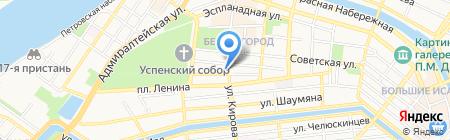 Спорт-Данс на карте Астрахани