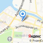 Акведук на карте Астрахани