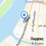 Натяжнов на карте Астрахани
