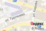 Схема проезда до компании Молодость в Астрахани