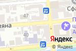 Схема проезда до компании Комтек в Астрахани