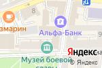Схема проезда до компании POP ART в Астрахани
