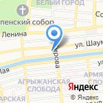 Ванда на карте Астрахани