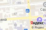 Схема проезда до компании SPAZIO в Астрахани