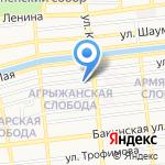 Областной клинический стоматологический центр на карте Астрахани