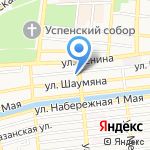 SPAZIO на карте Астрахани