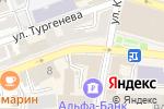 Схема проезда до компании Центральная-1 в Астрахани
