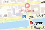 Схема проезда до компании Ванда в Астрахани