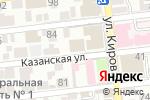 Схема проезда до компании ПрофАкадемия в Астрахани