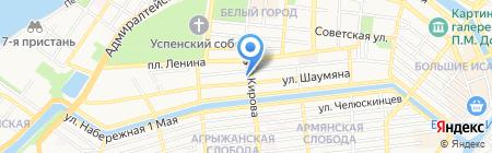 Бухен HOUSE на карте Астрахани
