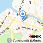 Нитки-Иголки на карте Астрахани