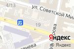 Схема проезда до компании Наш дом в Астрахани