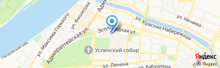 БегемотиК на карте Астрахани