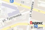 Схема проезда до компании География в Астрахани