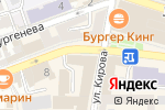 Схема проезда до компании Секонд Бум в Астрахани