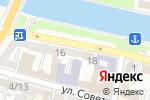 Схема проезда до компании Print в Астрахани