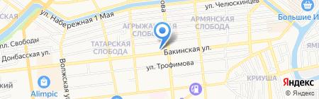 Отдел геологии и лицензирования по Астраханской области Департамента по недропользованию по ЮФО на карте Астрахани