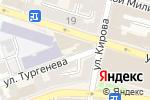 Схема проезда до компании Мила в Астрахани