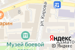 Схема проезда до компании Елизавета в Астрахани