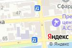 Схема проезда до компании Магазин канцелярских и хозяйственных товаров в Астрахани