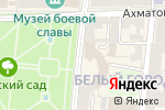 Схема проезда до компании Veranda в Астрахани
