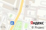 Схема проезда до компании Волжанка в Астрахани