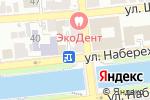 Схема проезда до компании ZooHouse в Астрахани